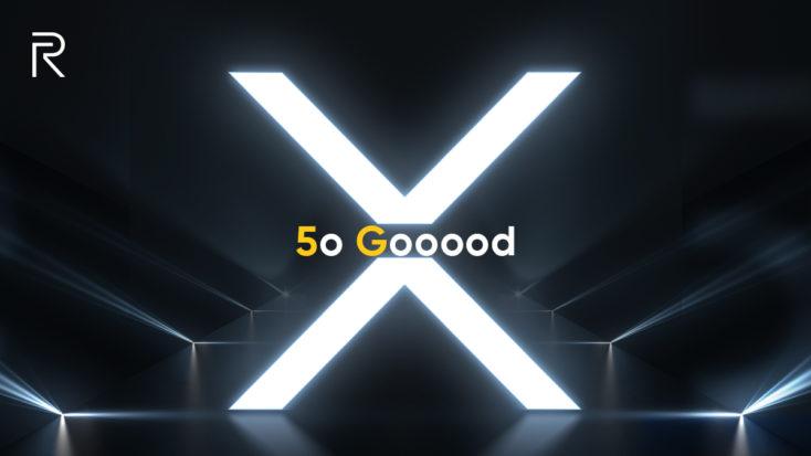 Imagen publicitaria del nuevo Realme X50 Pro 5G