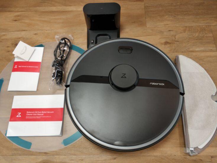 Accesorios incluidos con el Roborock S6 Pure