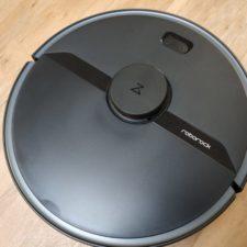 Robot aspirador Roborock S6 Pure dieseño en negro mate