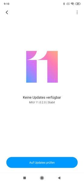 Xiaomi MIUI11