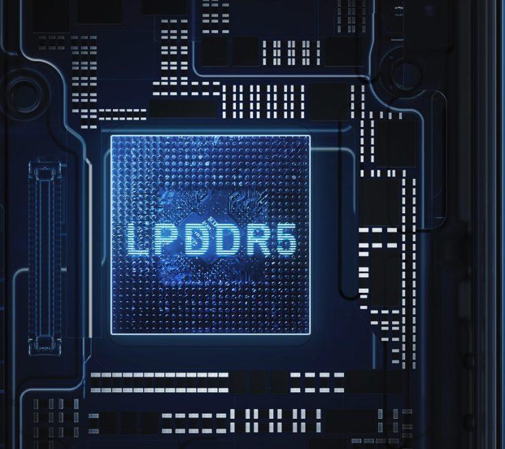 Chip de la Memoria RAM LPDDR5
