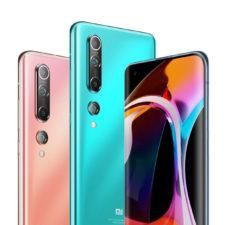 Xiaomi Mi 10 Smartphone en diferentes colores