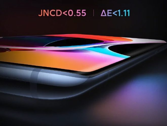 Valor de JNCD inferior de 0.55 del Xiaomi Mi 10