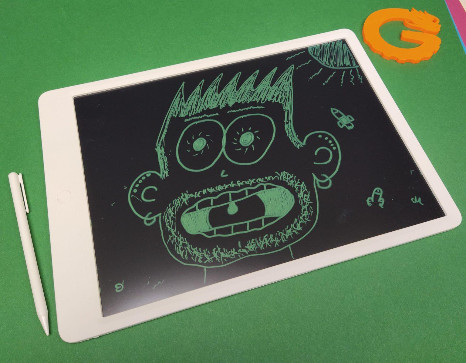 Retrato hecho con la tablet gráfica LCD de Xiaomi Mijia