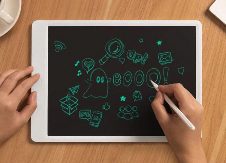 Tablet gráfica Xiaomi Mijia con dibujos