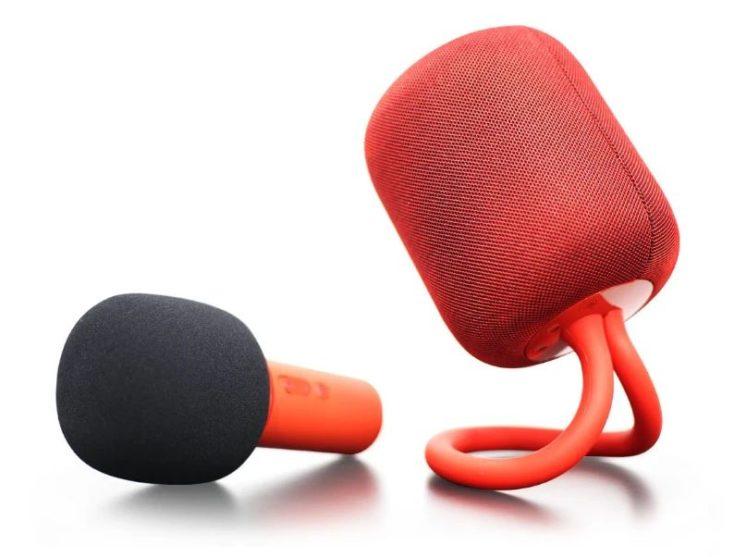 Altavoz y micrófono Xiaomi iK8 en rojo