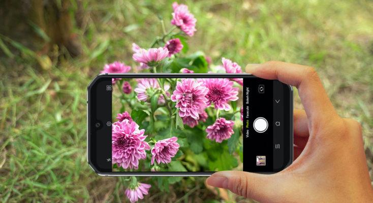 Sacando una foto con el Blackview BV9900 Pro