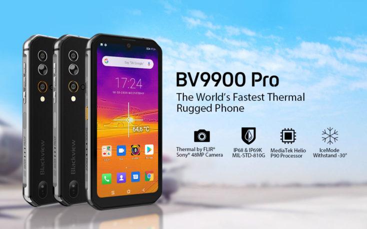 Poster promocional del Blackview BV9900 Pro
