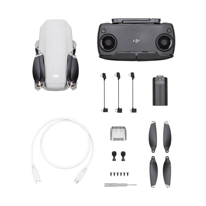 drone Mavic Mini de DJI y sus accesorios