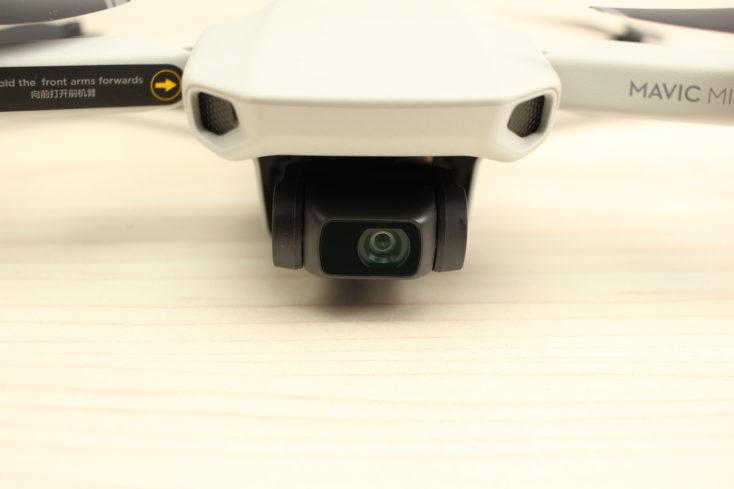 Cámara y gimbal del drone Mavic Mini de DJI