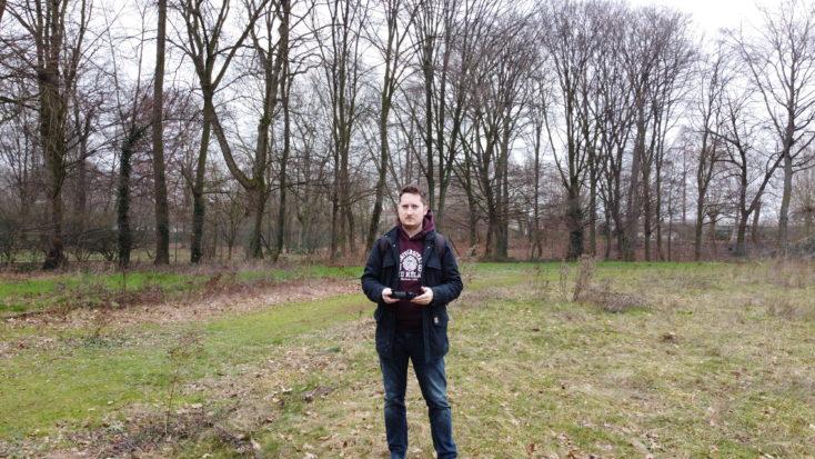 Foto de prueba de Jens con e drone Mavic Mini de DJI