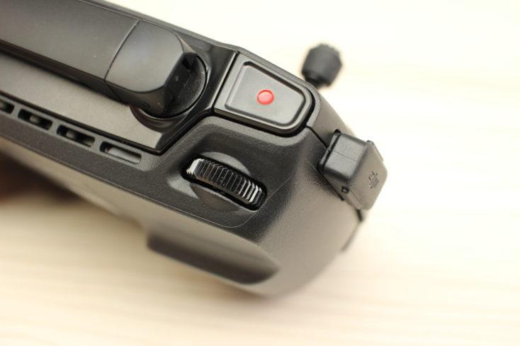 Gatillo izquierdo del mando del drone Mavic Mini de DJI