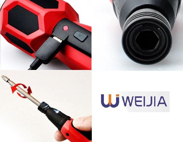 Mini destornillador elctrico Weijia