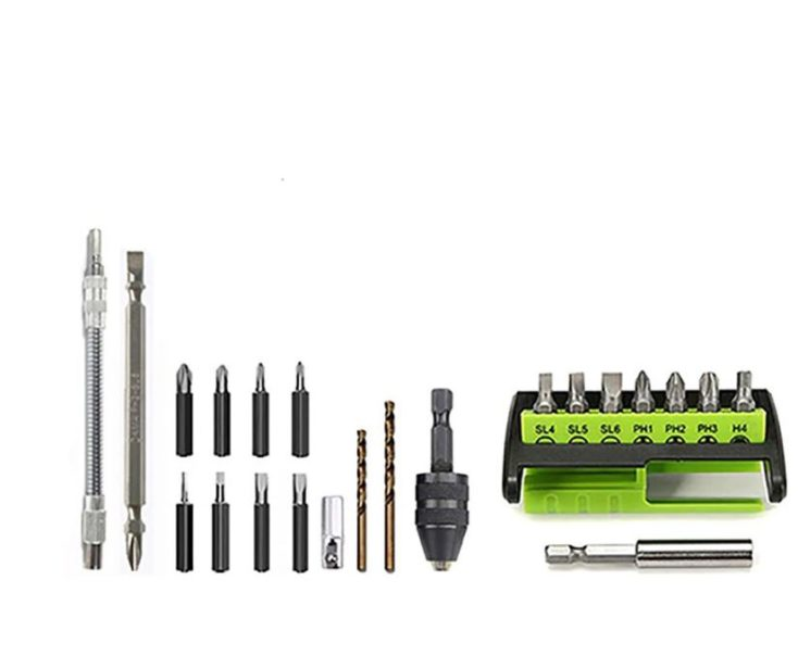Accesorios del mini destornillador elctrico Weijia