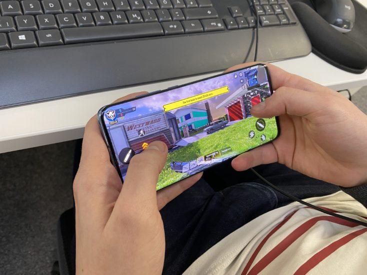 Jugando con el Xiaomi Mi 10