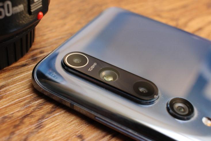Módulo de la cámara trasera del Xiaomi Mi 10
