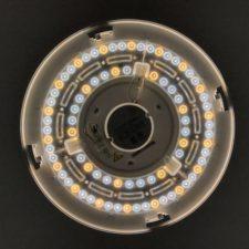 Leds de la lámpara Yeelight YLXD50YL encendidos
