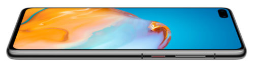 Pantalla curvada del Huawei P4O