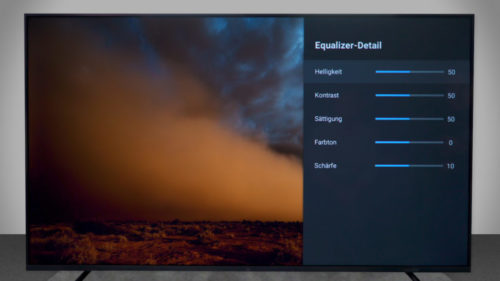 Ajustes de pantalla de laXiaomi Mi TV 4S