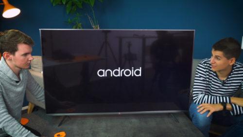 Xiaomi Mi TV 4S con sistema operativo Android