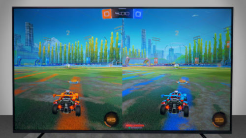 Jugando a Rocket League en la Xiaomi Mi TV 4S