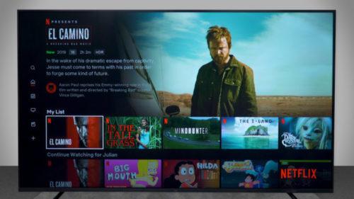 Series de Netflix en la Xiaomi Mi TV 4S