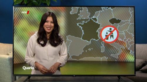 Viendo un programa de la televisión alemana en la Xiaomi Mi TV 4S