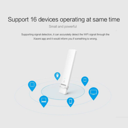 Dispositivos que podemos conectar al amplificador de señal WiFi de Xiaomi