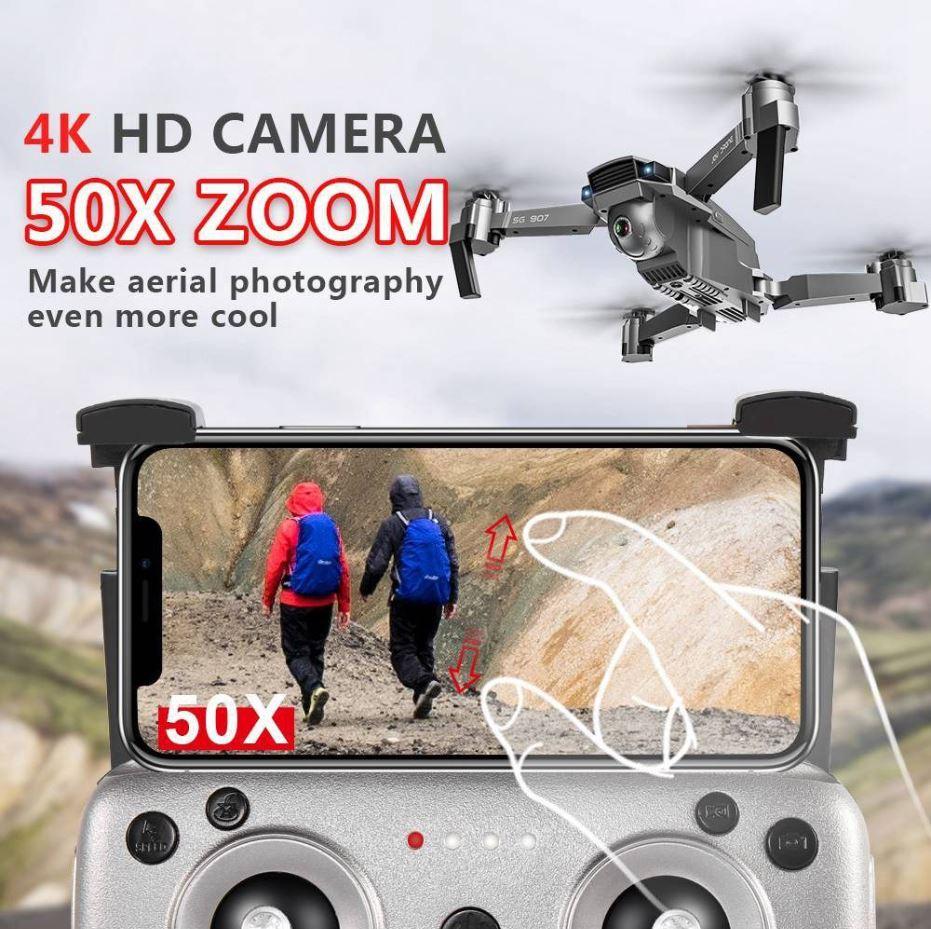Publicidad engañosa de la cámara 4K HD con Zoom de 50x