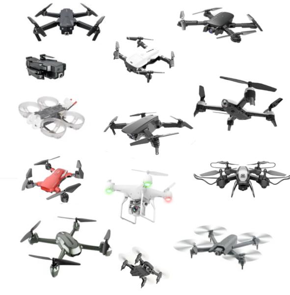 varios drones baratos de china