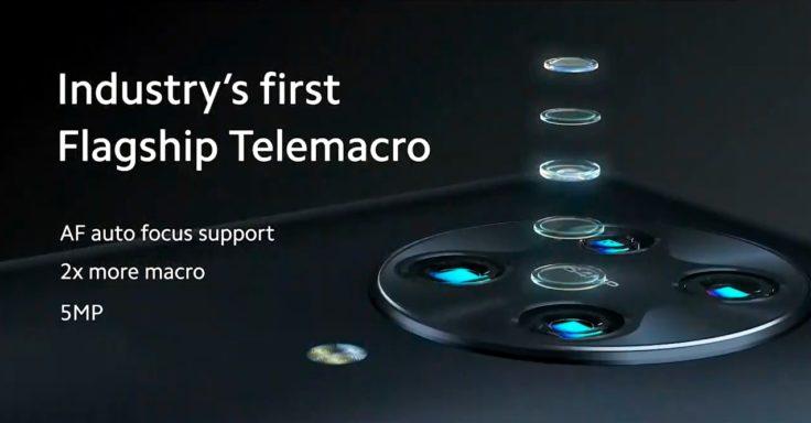 Especificaciones de la cámara Telemacro del Pocophone F2 Pro