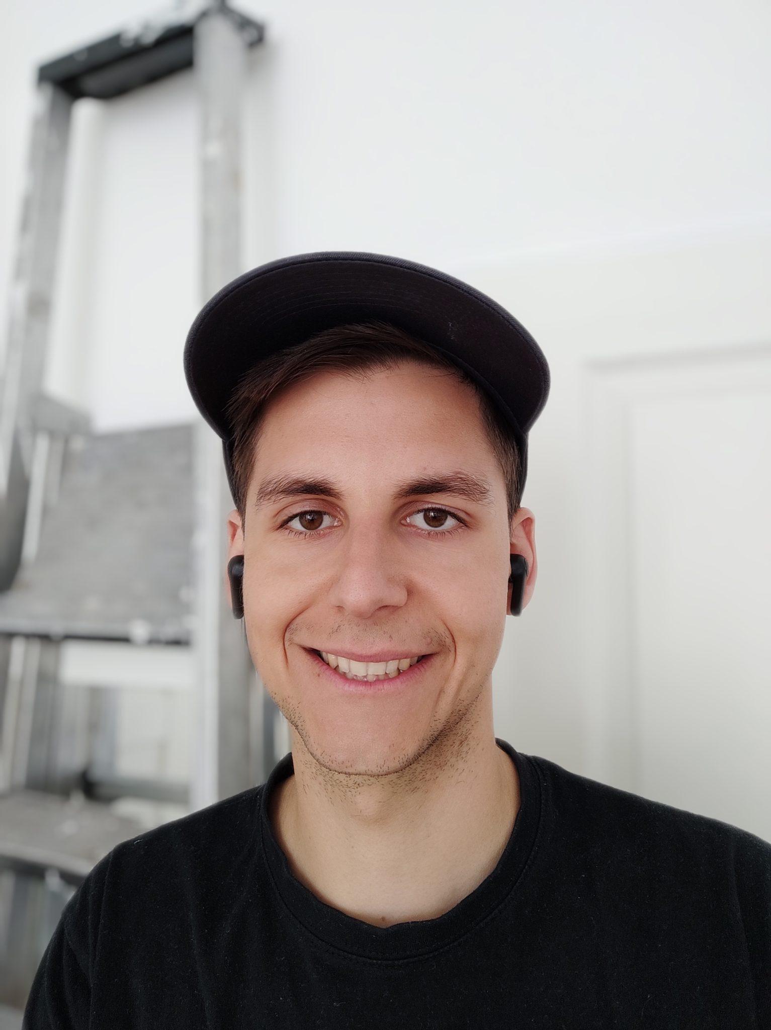 Selfie de prueba con el modo retrato de la cámara frontal del Pocophone F2 Pro