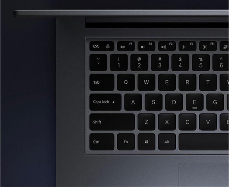 Teclado del ordenador portatil RedmiBook 16