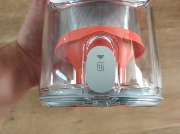 Depósito de polvo de la Aspiradora inalámbrica Xiaomi Mi Handheld