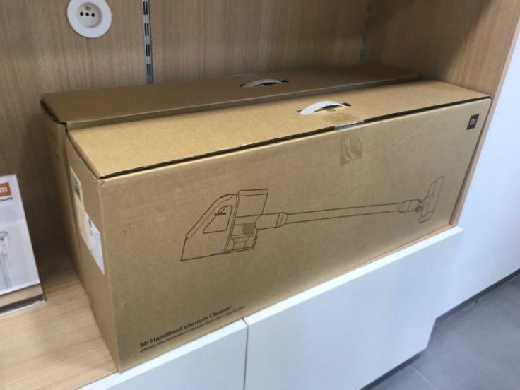 caja de la Aspiradora inalámbrica Xiaomi Mi Handheld