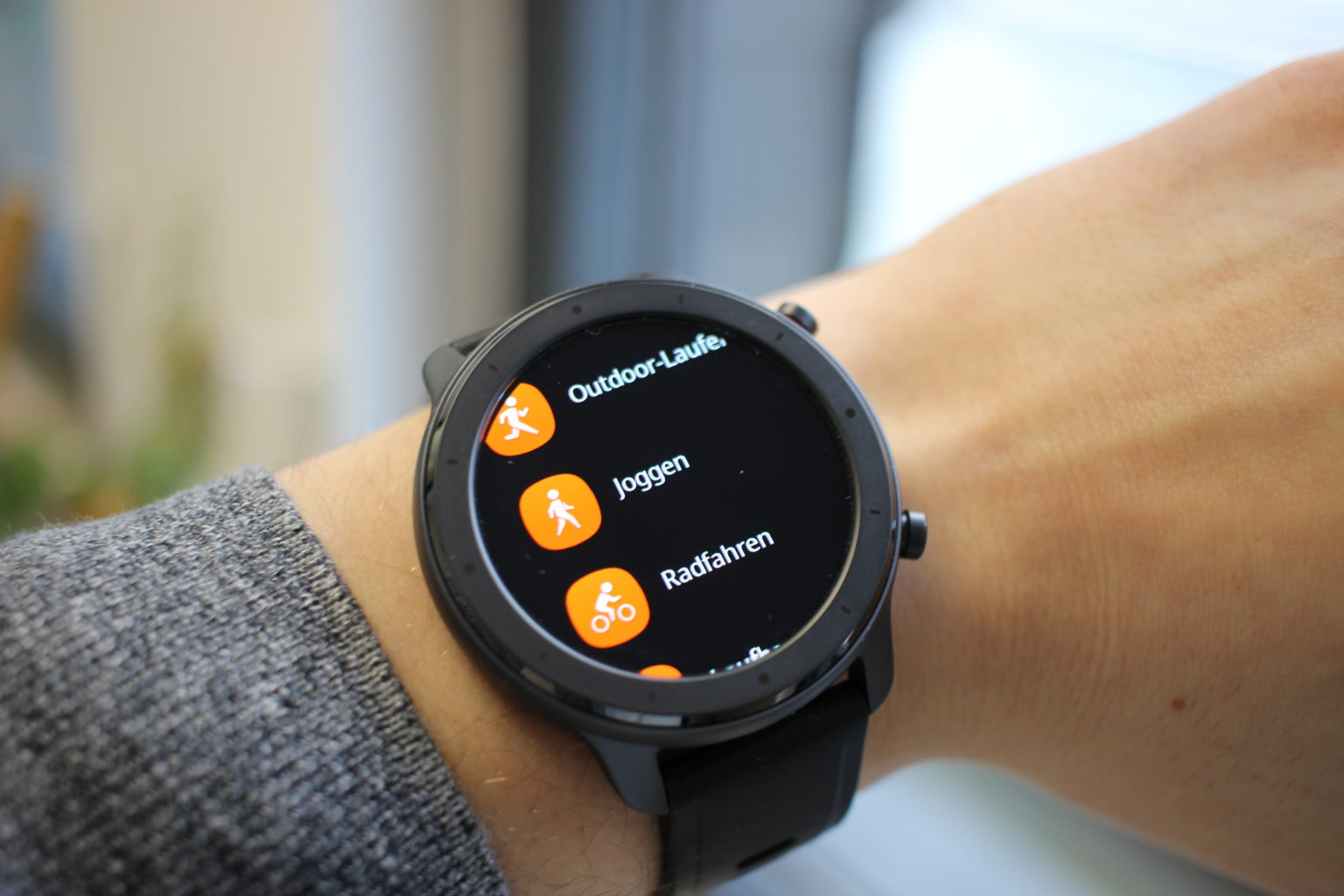 Modos deportivos del Reloj Inteligente Amazfit GTR Lite