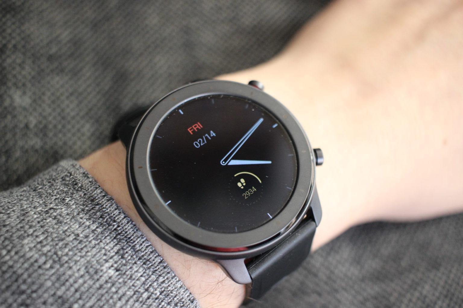 Pantalla Always On del Reloj Inteligente Amazfit GTR Lite