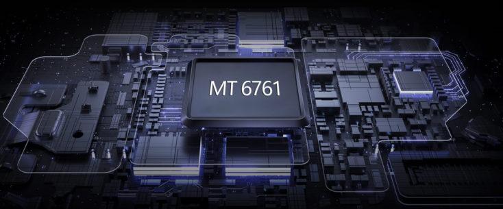 Chip del procesador MediaTek MT6761