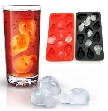 Molde para hielos con forma de la cara del grito de Munch 2