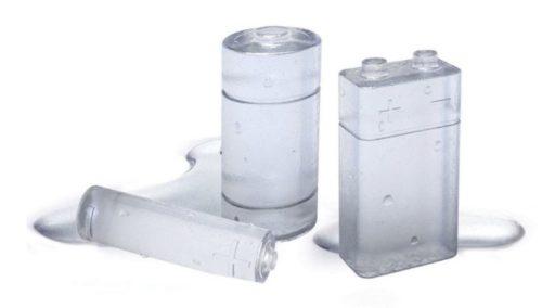 Molde para hielos con forma de pilas