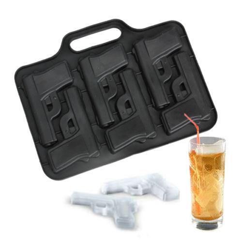 Molde para hielos en forma de pistola