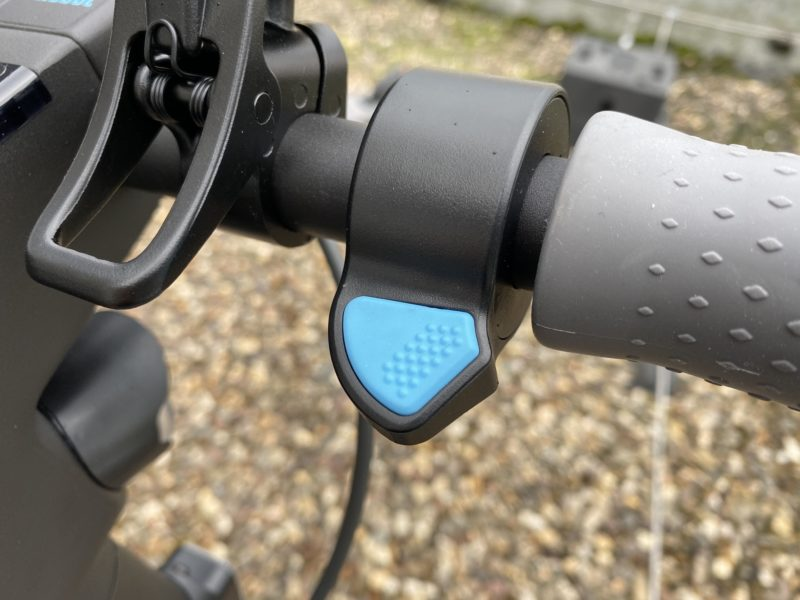 Acelerador del patinete eléctrico Ninebot Kickscoter MAX G30