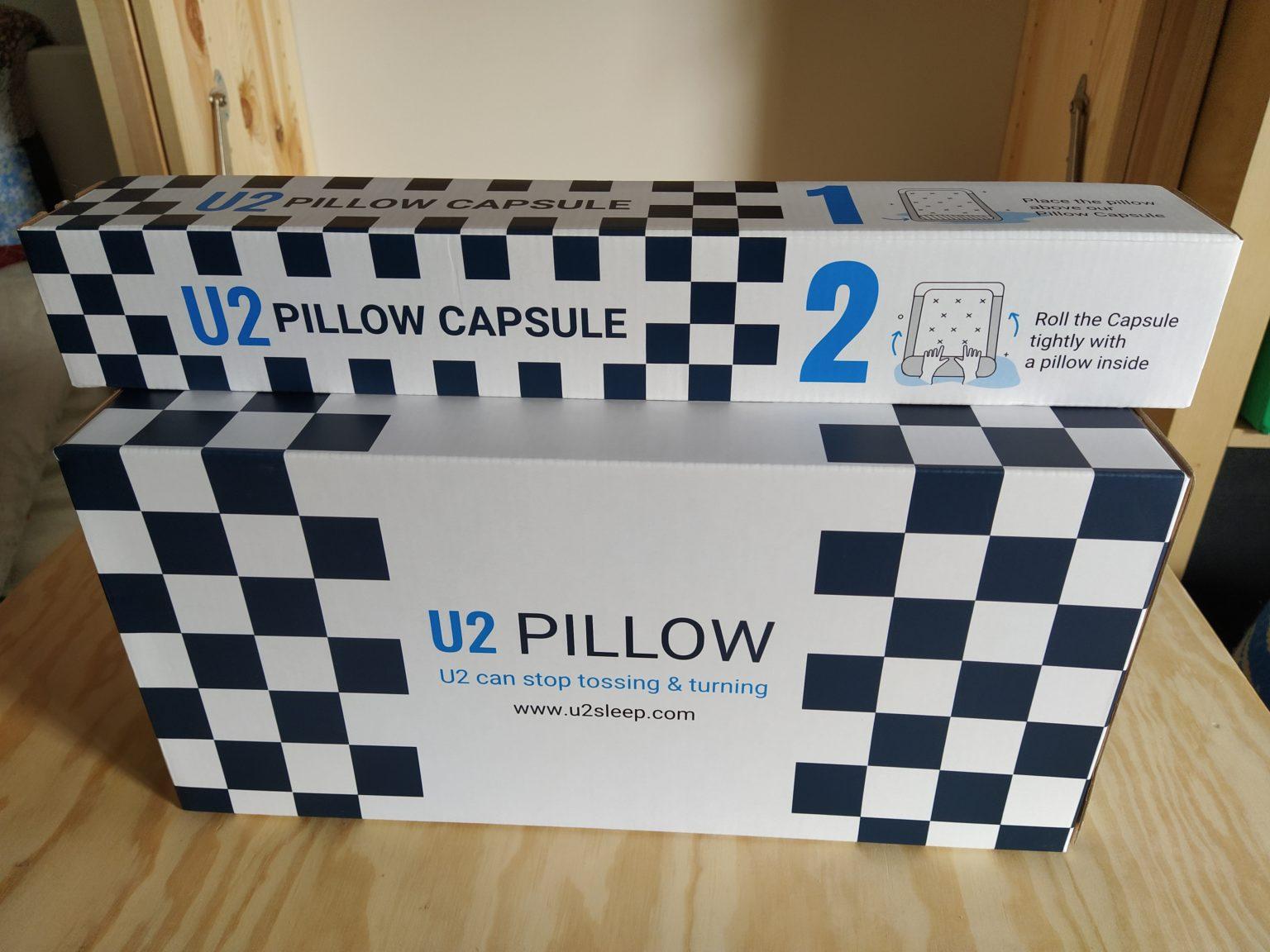 Caja de la almohada viscoelastica modular de U2