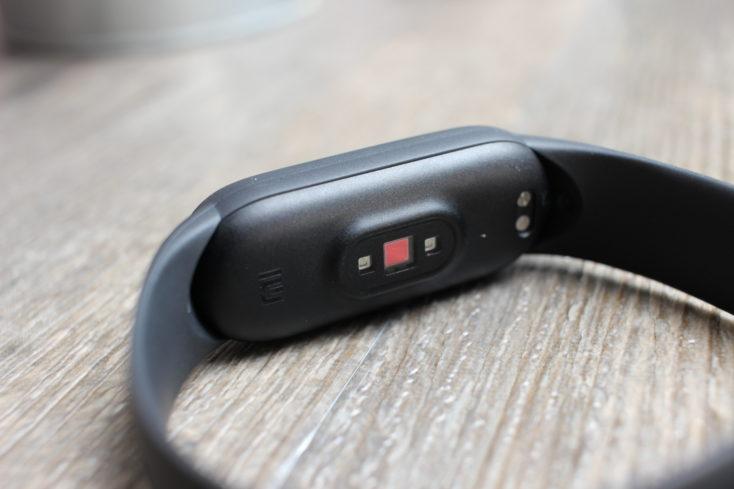 Sensores de la Xiaomi Mi Band 5