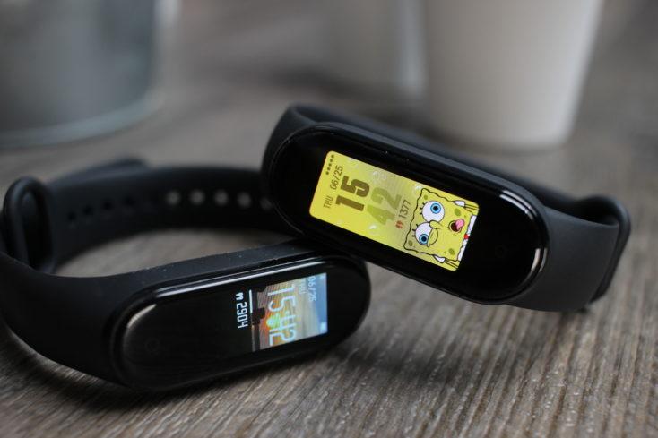 Xiaomi Mi Band 5 sobre la Mi Band 4