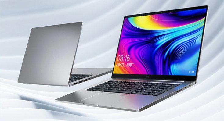 Xiaomi Mi Notebook Pro 2020 visto por delante y por detrás