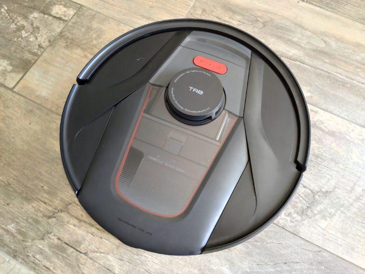 Diseño del robot aspirador Haier Tab Tabot