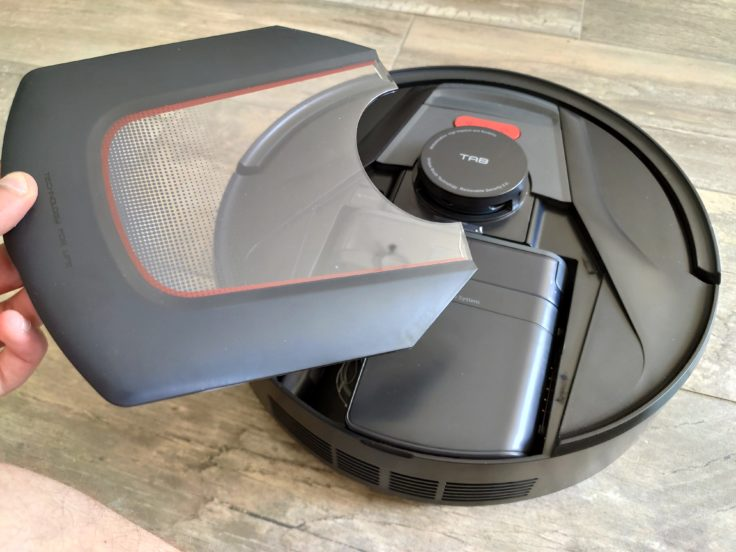 Tapa del depósito de polvo del Robot aspirador Haier Tab Tabot