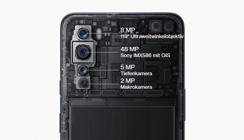 Especificaciones de la cámara principal del One Plus Nord