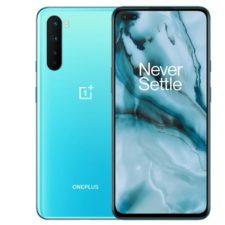 One Plus Nord Smartphone Parte delante y dorso-Azul-e1595350173876
